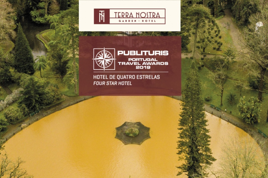 "Terra Nostra Garden Hotel has won the category of ""Best Four-Star Hotel"" of Portugal"
